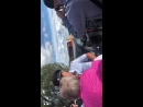 Разгон дежурных против строительства дороги к мусорному полигону в Сахарово 13.08