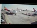 Asiana A330'un THY uçağını kuyruğuna çarpma anı - Asiana's A330 hit THY's tail real time