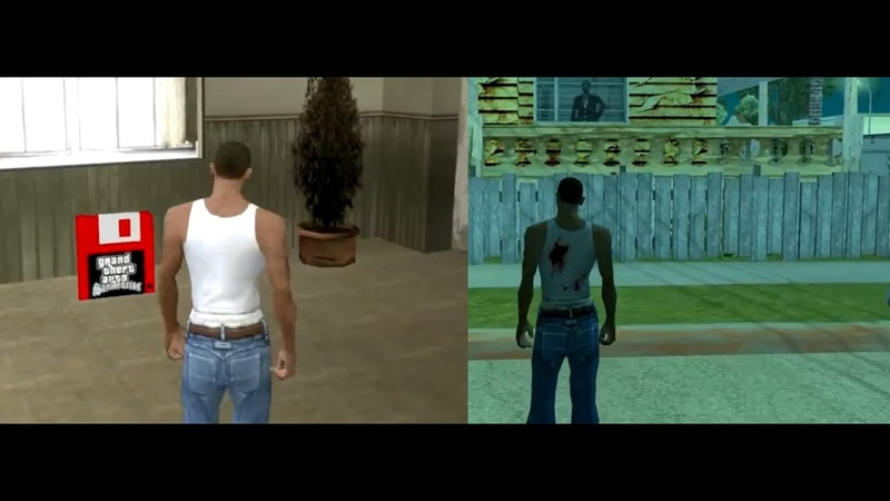 Никогда не сохраняйте GTA SAN ANDREAS на КРАСНОЙ ДИСКЕТЕ...
