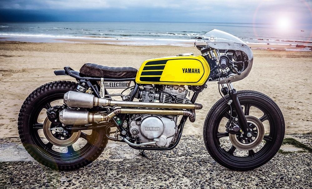 Reier Motors: кастом Yamaha XS400