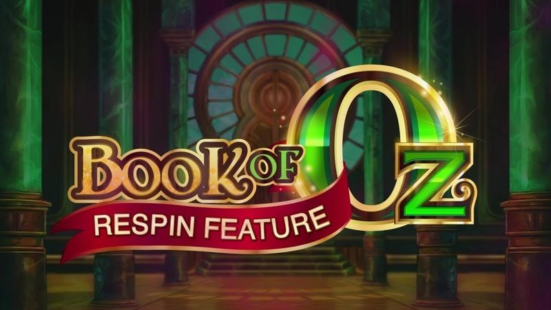 Book of Oz Online Slot Promo