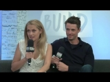 BUILD: Live from London - Matthew Goode & Teresa Palmer