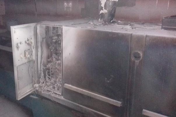 В школе №17 Усть-Илимска произошел пожар