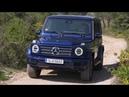 Mercedes-Benz G 500 brilliant blue metallic