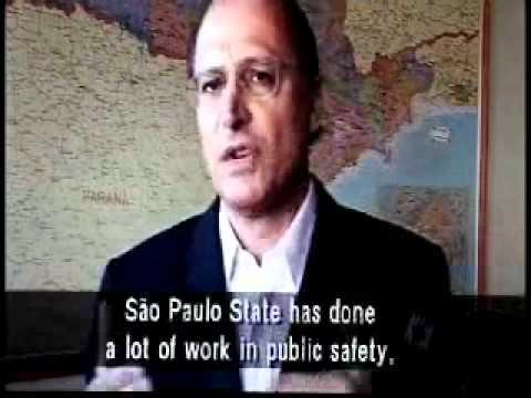 Entrevista de Geraldo Alckmin sobre os ataques do PCC