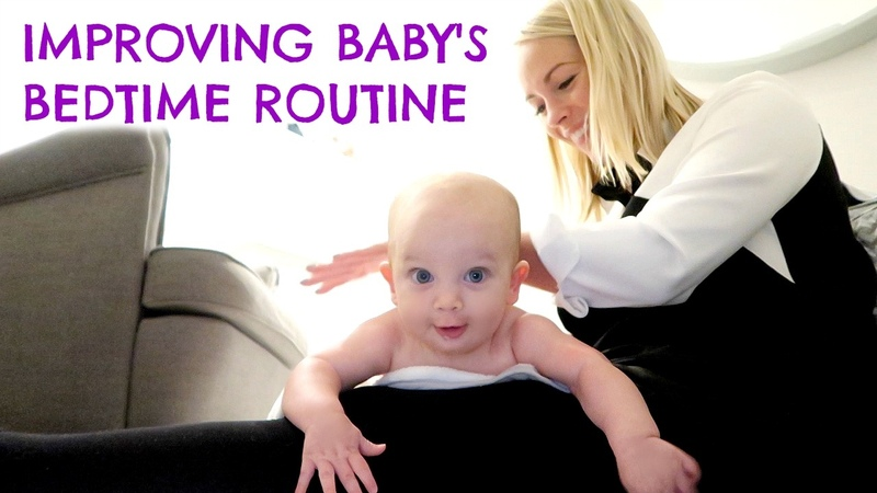 4 MONTH SLEEP REGRESSION IMPROVING OUR BEDTIME ROUTINE with JOHNSONS ad