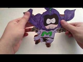 Рисуем Мистериона из South Park Mysterion