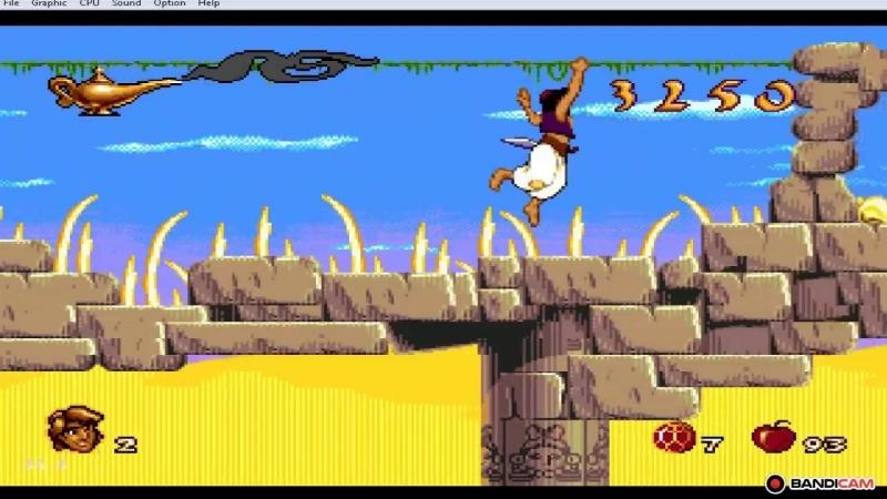 Aladdin Sega Gameplay / Аладдин Сега Обзор игры