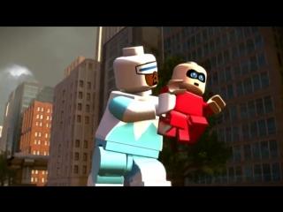 LEGO® The Incredibles (трейлер-3)