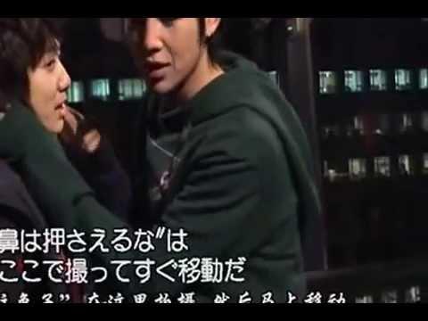 Geun Suk Shin Hye - YAB Kiss Scene BTS