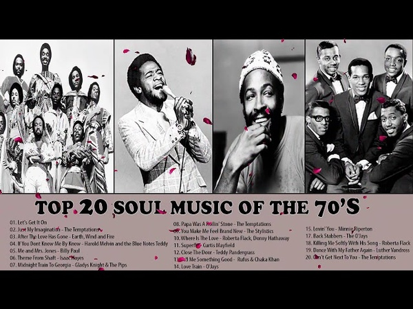 The 100 Greatest Soul Songs of the 70s || Unforgettable Soul Music Full Playlist