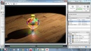 3D modeling - Pot Lamp Lighting Effect - Spot light Point Light - Autocad 2017