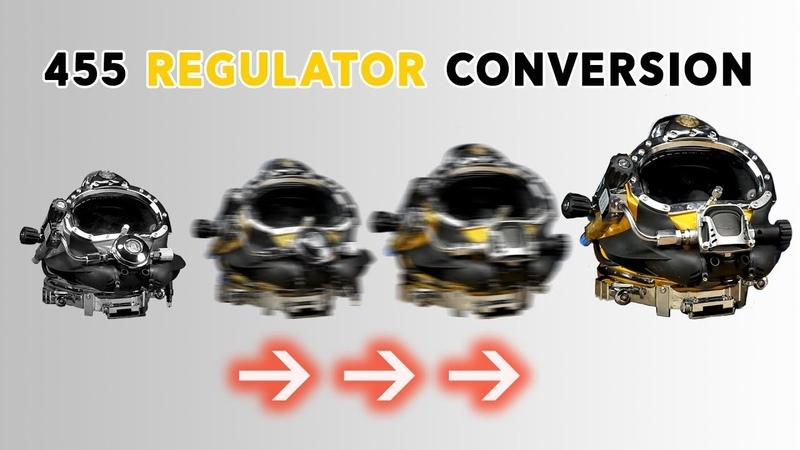 How To Conversion Kit 455 Regulator for KM 37 KM 57 SL 17C or SL 27® Helmet