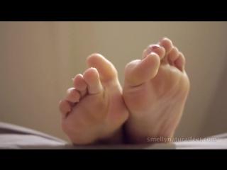 SNF socks feet stinky blonde teen epic beauty