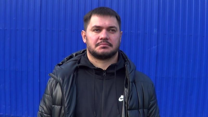 Интервью Уколова Антона после матча «Leicester City» - «Тека» (23)