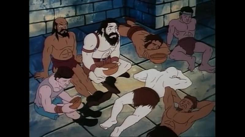 Конан-Искатель Приключений 1 сезон 3 серия