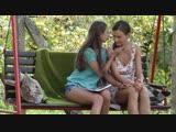 Stefany Moon and Tina Kay - Sealed With A Kiss Lesbian