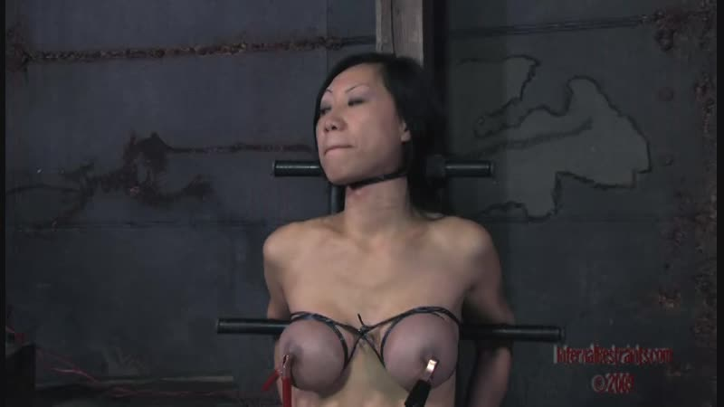 Asian bondage and tits electric torture 2