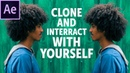 How To Clone And Interact With Yourself In After Effects