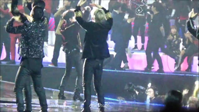 [FANCAM] 171201 Mnet Asian Music Awards in Hong Kong @ EXO's Baekhyun - Power