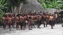 Dani women dancing in Baliem Valley Papua province island of New Guinea
