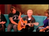 Carson Lueders &amp Keith Urban on The View (09-11-2013)