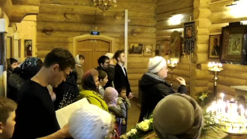 2-01,04,2018 Служба в Кузьмоловском храме-2