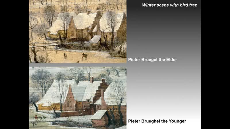 Питер Брейгель Старший и его сыновья , клепавшие всей семьёй Петины копии