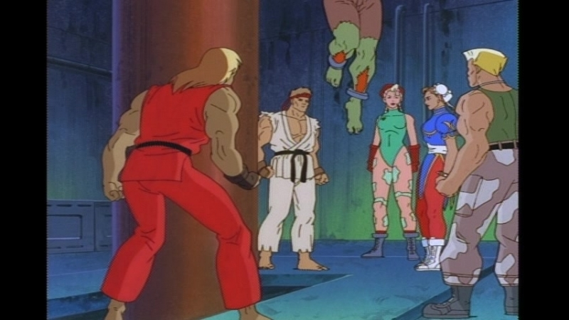 Street Fighter TAS ep. 08 - The Medium Is The Message