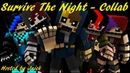 Survive The Night | Minecraft / FNaF | Song by MandoPony | Collab hosted by J NICK