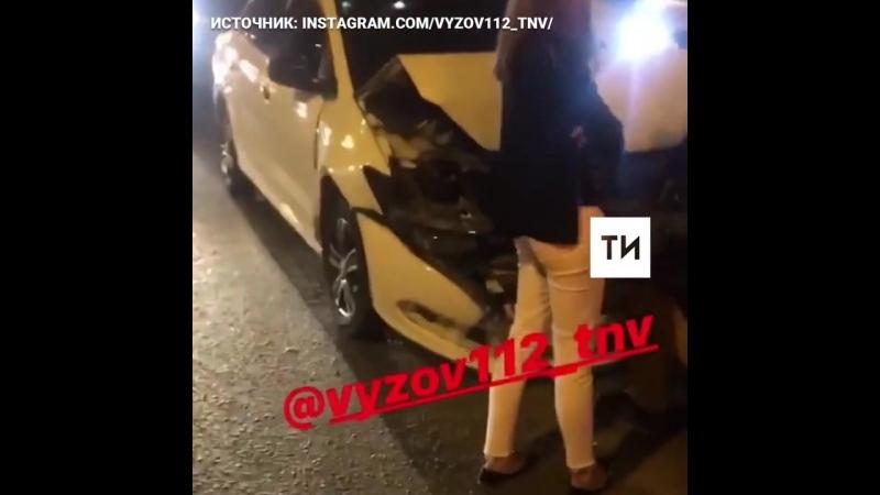 ▶ Массовая авария на мосту Миллениум
