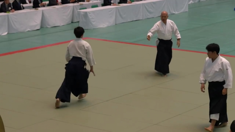 Aikikai Aikido - Kuribayashi Takanori Shihan - 56th All Japan Aikido Demonstrati