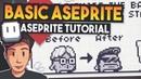 Aseprite Guide for Beginners Pixelart Tutorial
