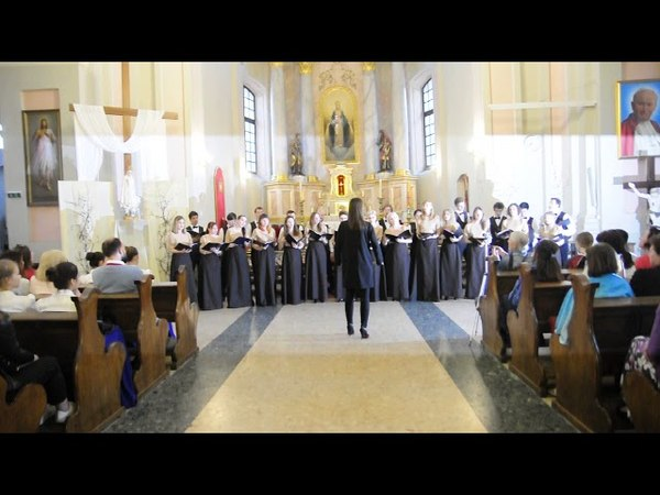 Камерный хор Cantares - Alleluja (Romuald Twardowski)
