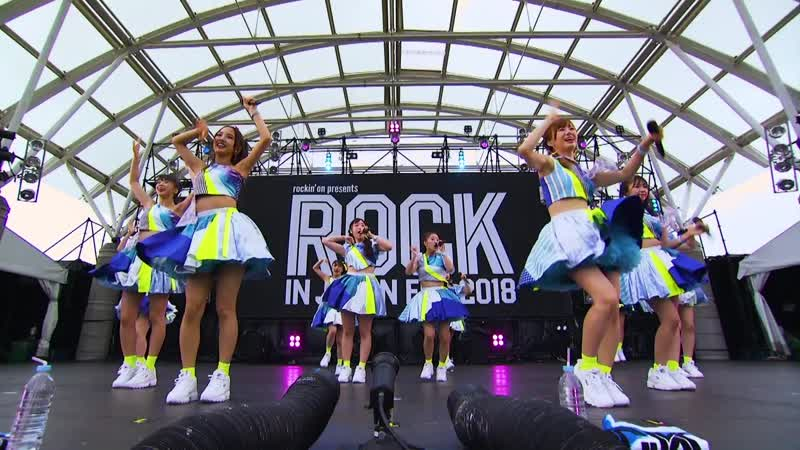 [BD] Morning Musume '18 at Rock in Japan Festival 2018 («Best! Morning Musume 20th Anniversary»)
