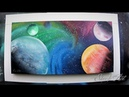 Spray Paint Art - Space Maelstrom By SKECH