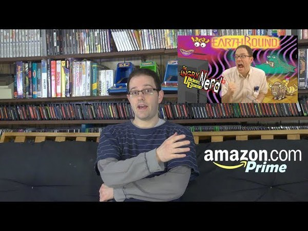 See new AVGN episode early on Amazon Prime now EARTHBOUND SNES