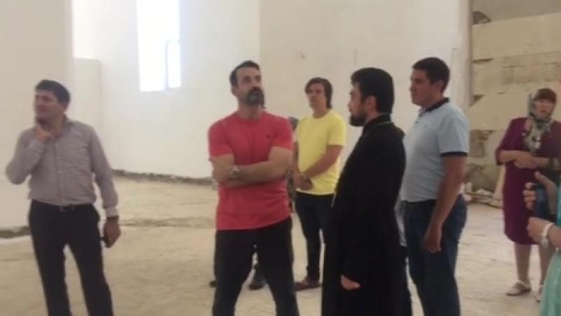 Певец и актёр Дмитрий Певцов приехал в Краснодар,чтобы поддержать строительство храма Вознесения Господня в Пашковском микрорайо