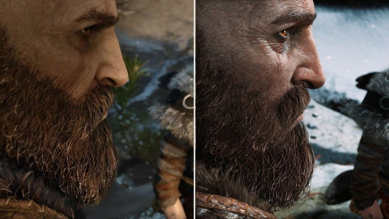 God of War: E3 2016 vs. Final Graphics Comparison