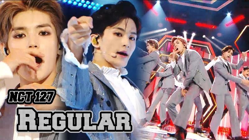[Comeback Stage] NCT 127 - Regular, 엔시티 127 - Regular Show Music core 20181013