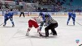 Моменты из матчей КХЛ сезона 1415 Гол. 02. Голышев Анатолий (Автомобилист) реализовал выход один на один 05.01