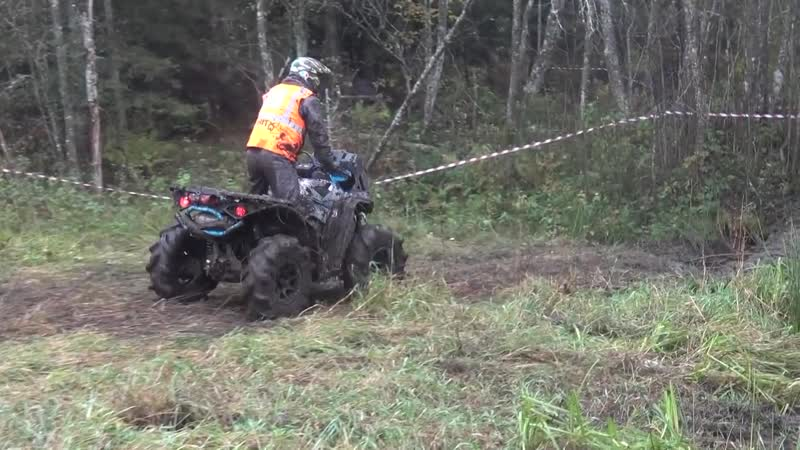 ATVs _ Off-road mud race __ Madona october 2016