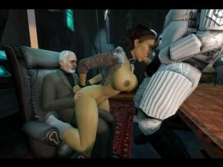 Alyx vance half-life 2 аликс вэнс секс