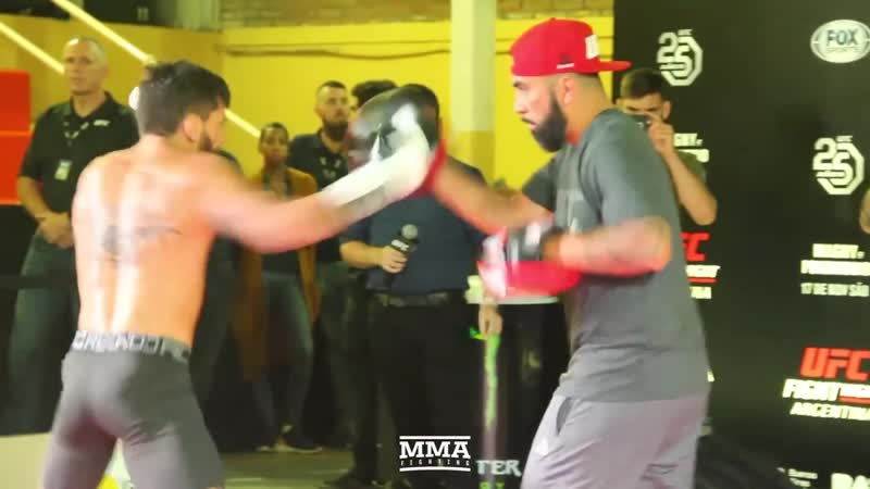 UFC Argentina_ Guido Cannetti Open Workout Highlights