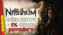 Отличная кооп песочница про викингов Ключ для вас — Niffelheim Геймплей Первый взгляд