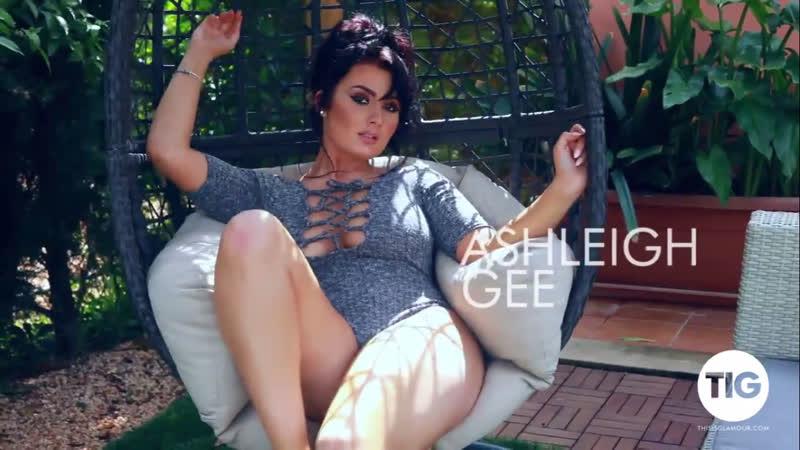 Ashleigh Gee teasing big tits erotica