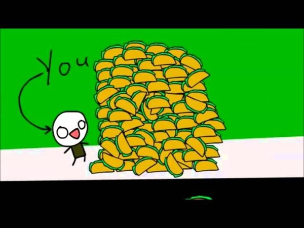 It's raining tacos - 10H version By Parry Gripp and BooneBum