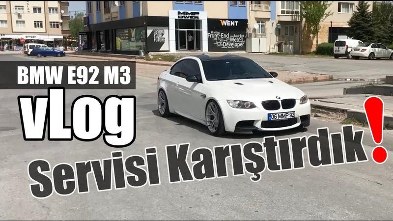 MMPower BMW E92 M3le Yetkili Serviste | vLog Bol Gazlama ve Geyik İçerir