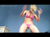 Giantess Blonde Destruction SFX