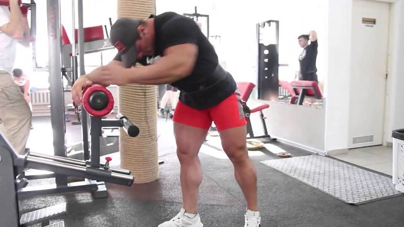 Адам Абакаров Тренировка ног